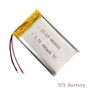 防尘口罩电池062035 3.7V 400mAh