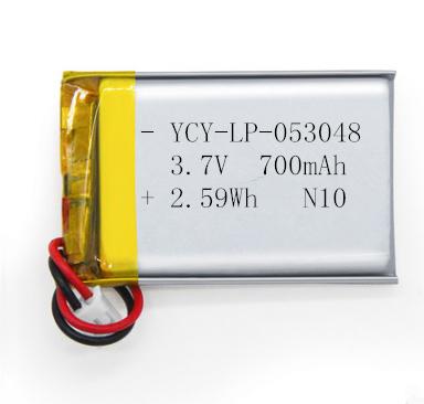 3.7V成人用品锂电池700mAh