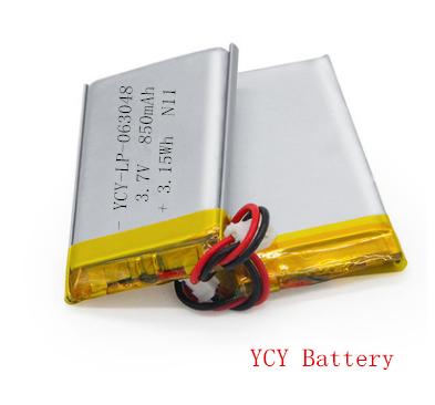 空气净化器软包九游会官网正版3.7V 850mAh
