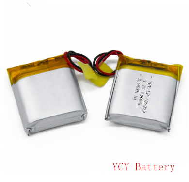 无线婴儿监护器锂电池YCY-LP-102929 3.7V 800mAh