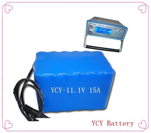 水质检测仪锂电池组11.1V 15A