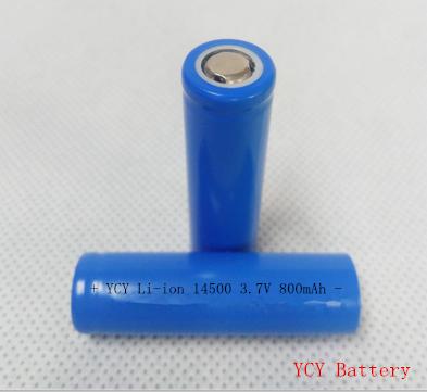 电动牙刷电池14500 3.7V 800mAh