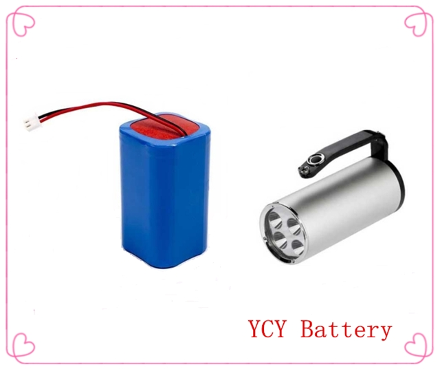手提式探照灯锂电池组