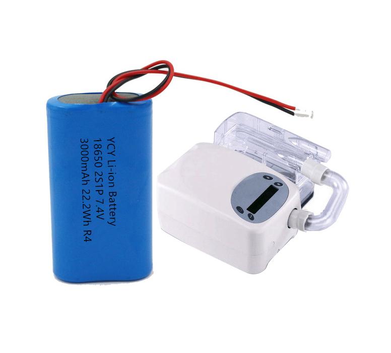 医疗呼吸机锂电池方案