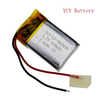 按摩仪电池YCY-LP-902030 3.7V 550mAh
