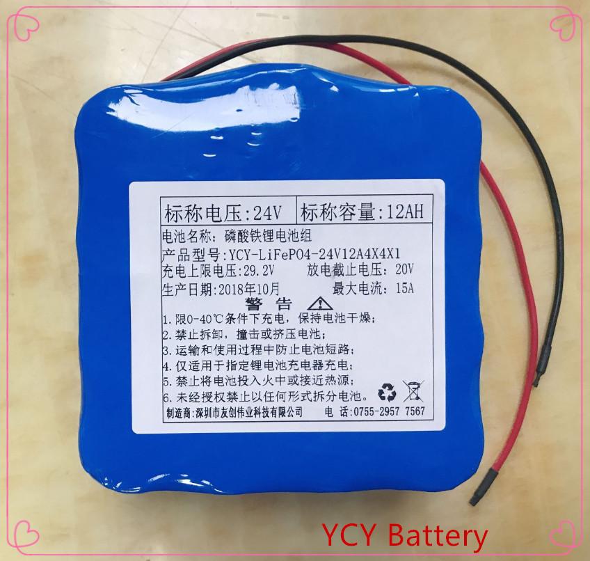 磷酸铁锂电池组24V12AH