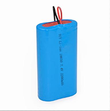 ?安防设备电池YCY-18650 2S1P 2200MAH