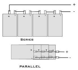 锂电池组串联和并联图